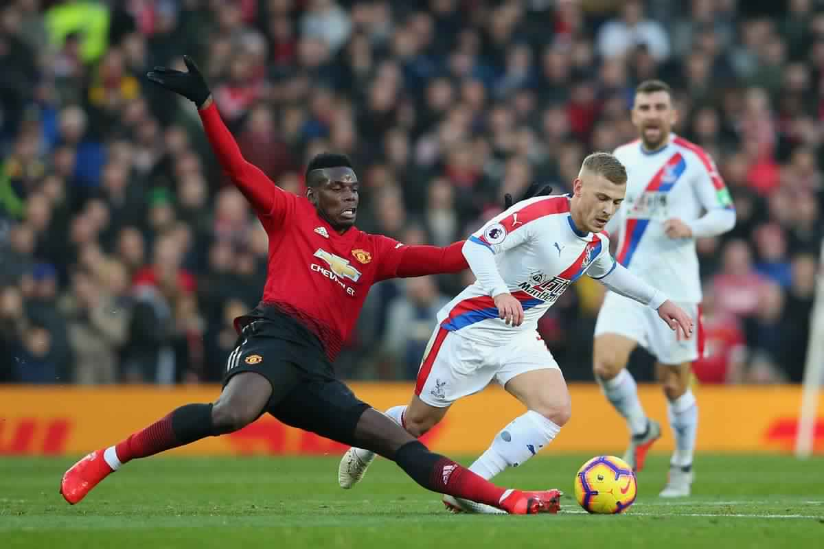 Crystal Palace beat United at injury time