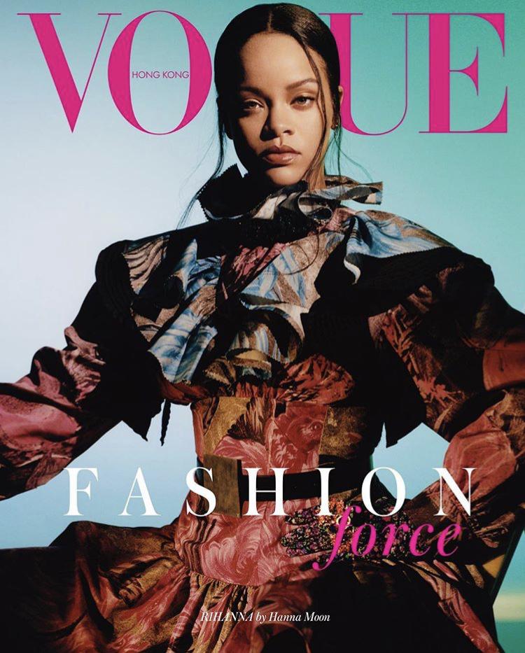 Rihanna becomes cover of Vogue Magazine Hong Kong, September 2019 edition
