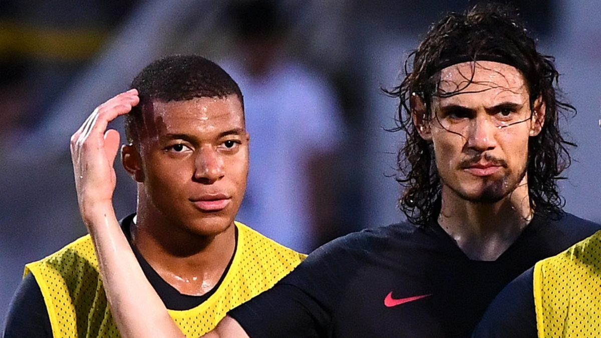 CONFIRMED: Cavani and Mbappe will be out for 3-4 weeks