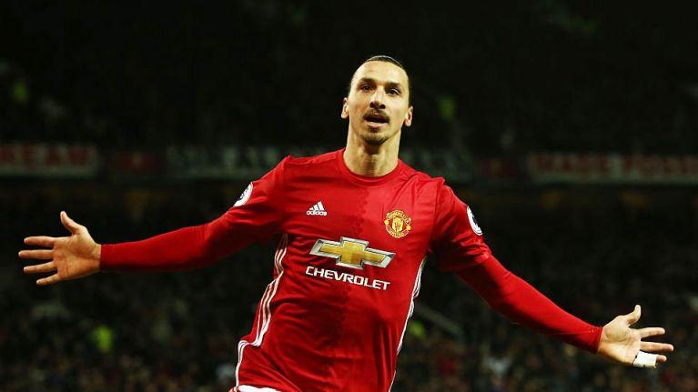 Ibrahimovic hints on returning to Man United