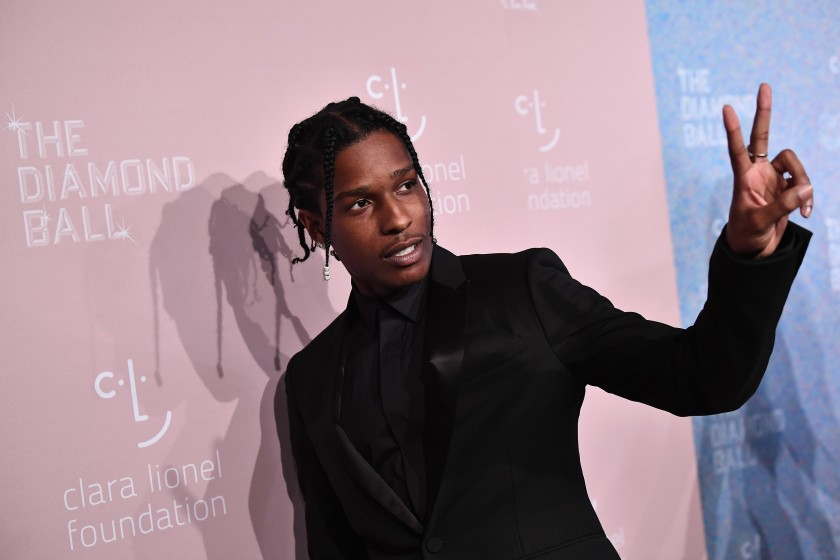 ASAP Rocky performs for the first time after being released from Swedish jail