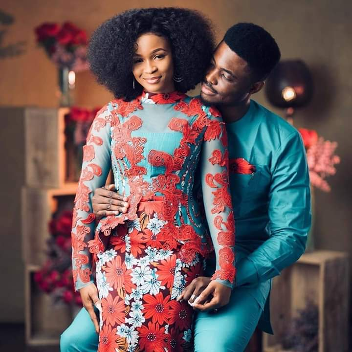 Simple Ankara Styles For Couples