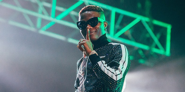 Wizkid becomes the most-listened African artiste on Spotify monthly