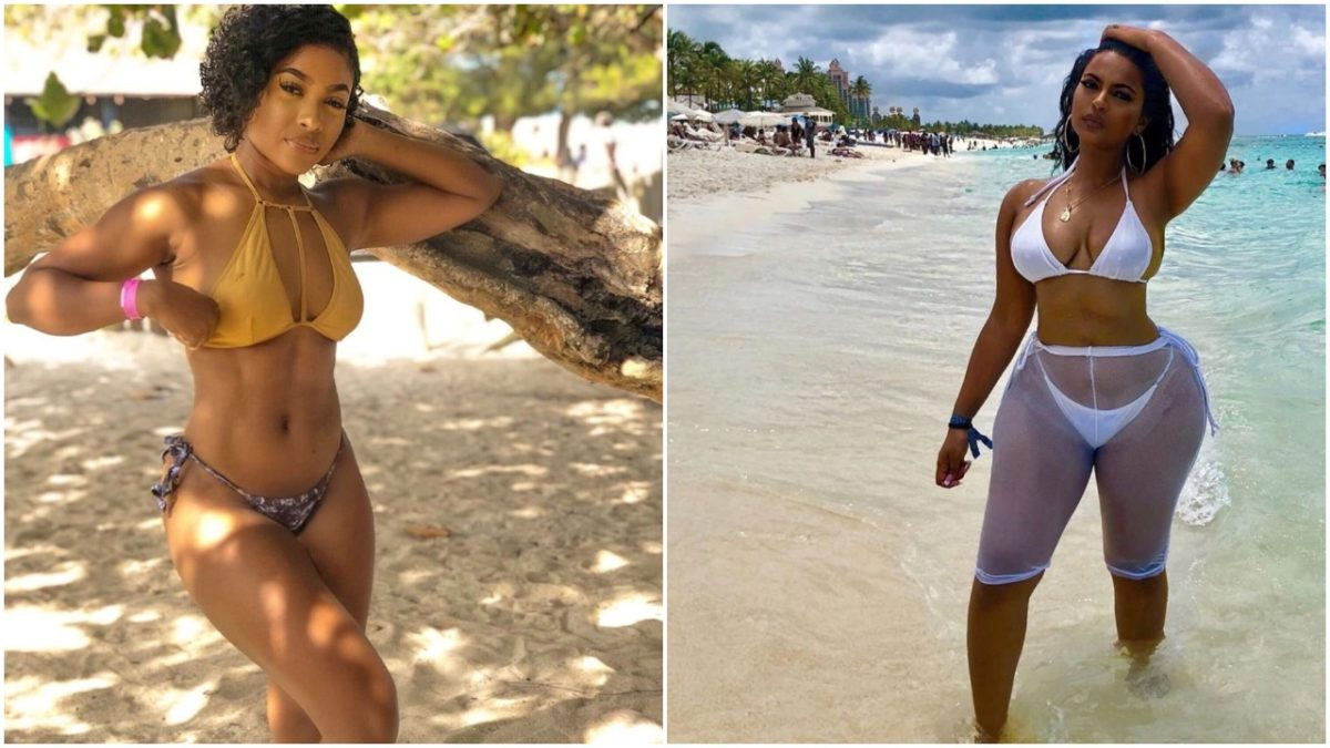 bathing suit or bikini