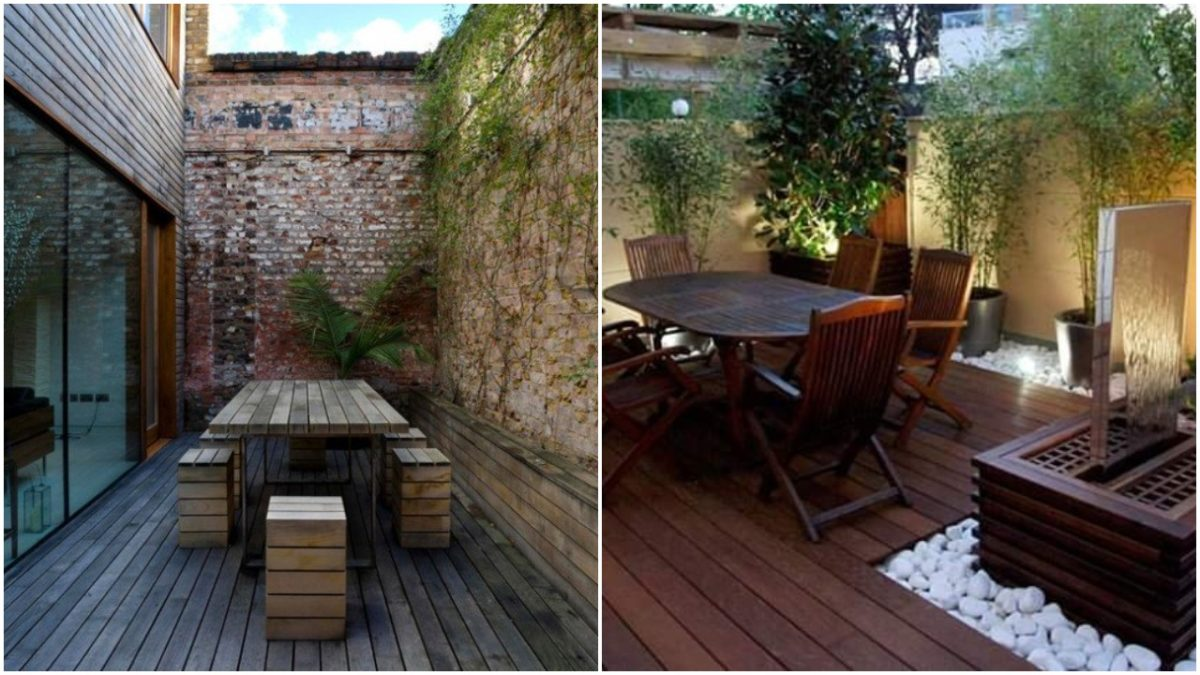Superb Ideas For Small Courtyards