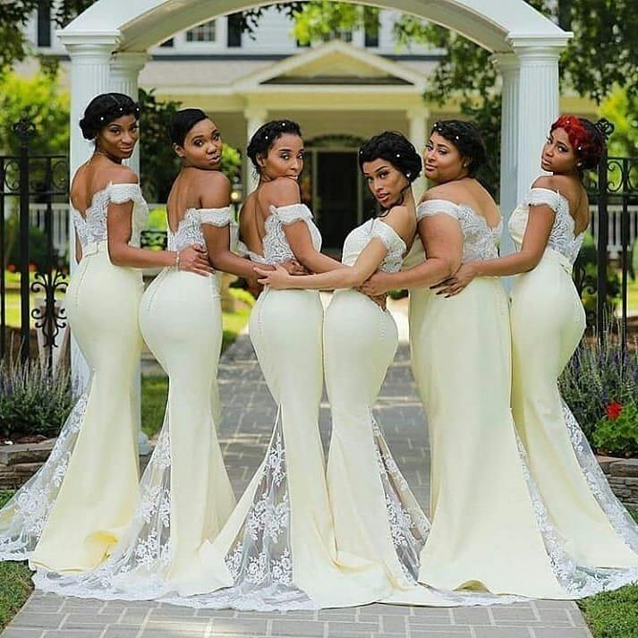 Pepper Dem Styles!!! Beautiful Bridesmaids Dress Ideas