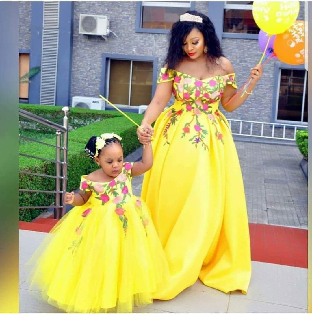 fabulous ankara styes for mother and daughter 67648074858