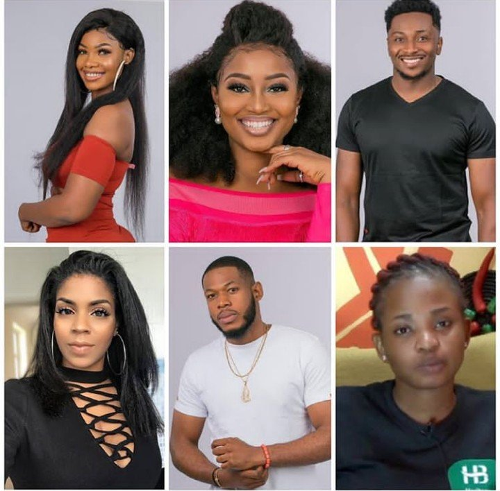 #BBNaija - Team Legend Up For Eviction - Ike Saved Omashola,Replaces Him With Cindy