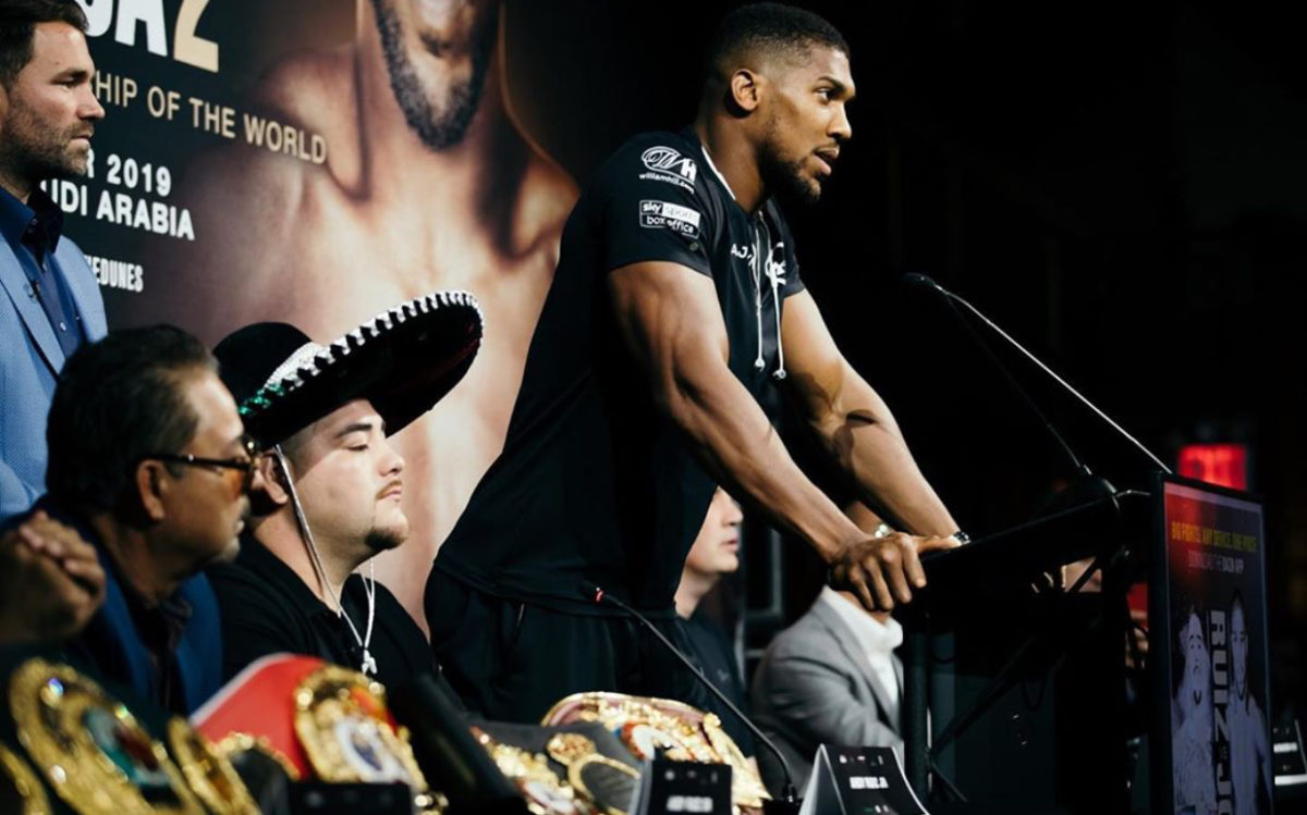 Anthony Joshua Invites Obama and Top notch Stars For His Rematch With Ruiz