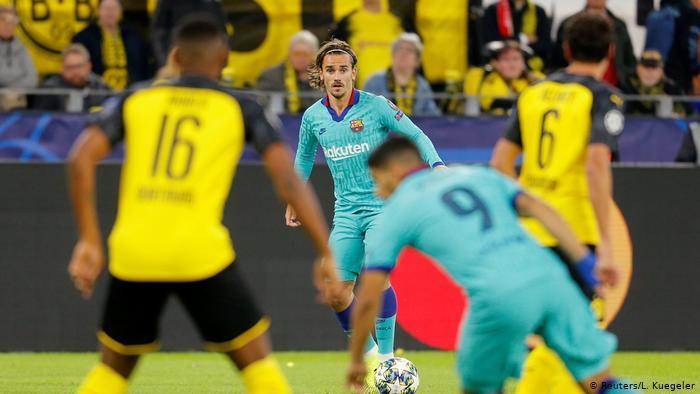 Borussia Dortmund Vs Barcelona Live