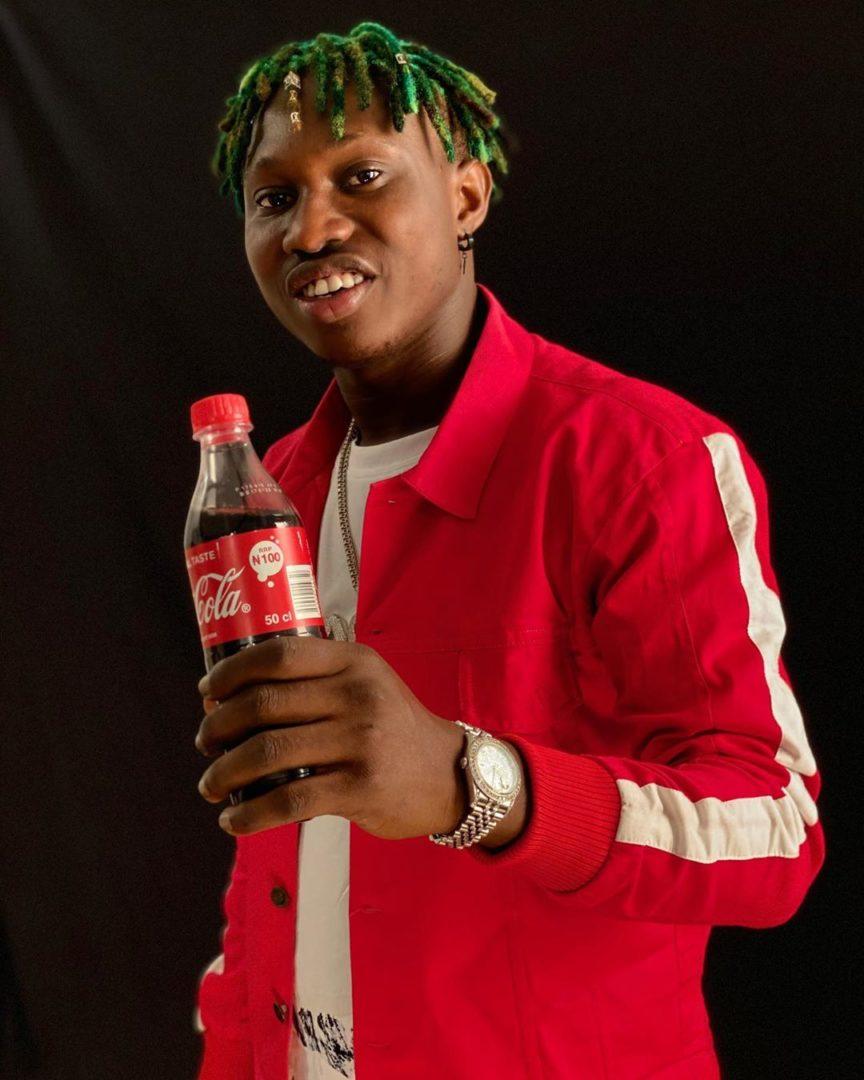 Gbe Body Eh Crooner Zlatan becomes Coca Cola's latest ambassador