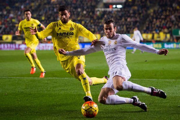 Gareth Bale sent off after scoring two goals against Villa Real