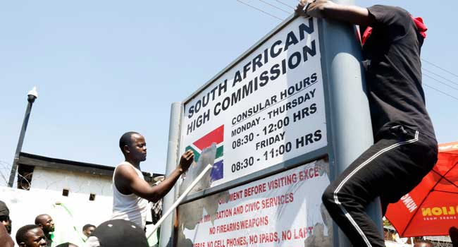 South Africa closes its diplomatic missions in Lagos and Abuja