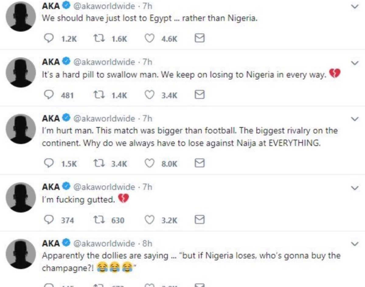 Burna Boy Threatens To Beat AKA Over Comments Made In Wake Of Xhenophobic Attacks