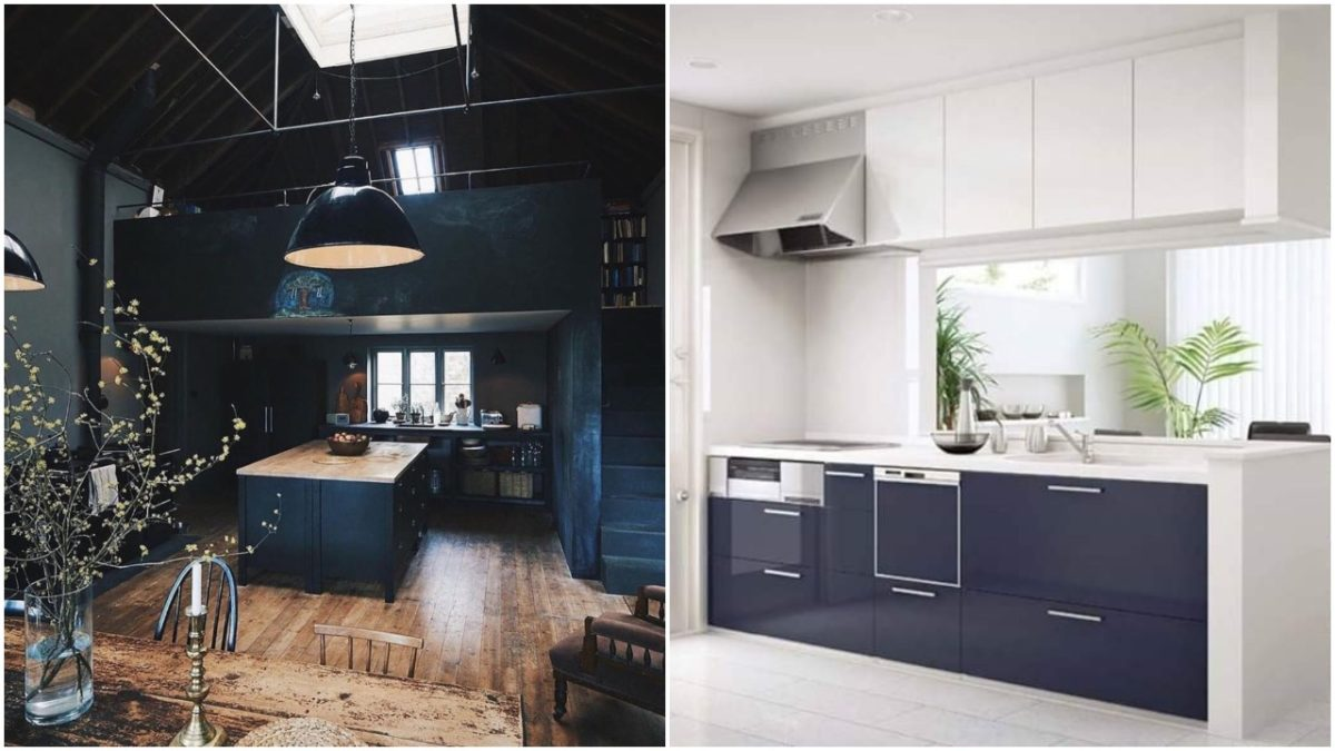 Mad Oh , Dramatic and mind blowing Black Kitchen Designs