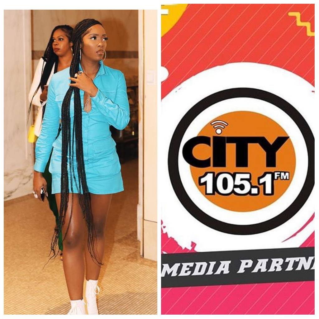 City FM MD apologizes to Tiwa Savage Over Female OAP's Slamming her