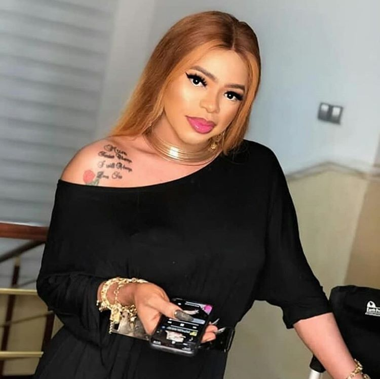 Bobrisky shows off the N15 Million he got from