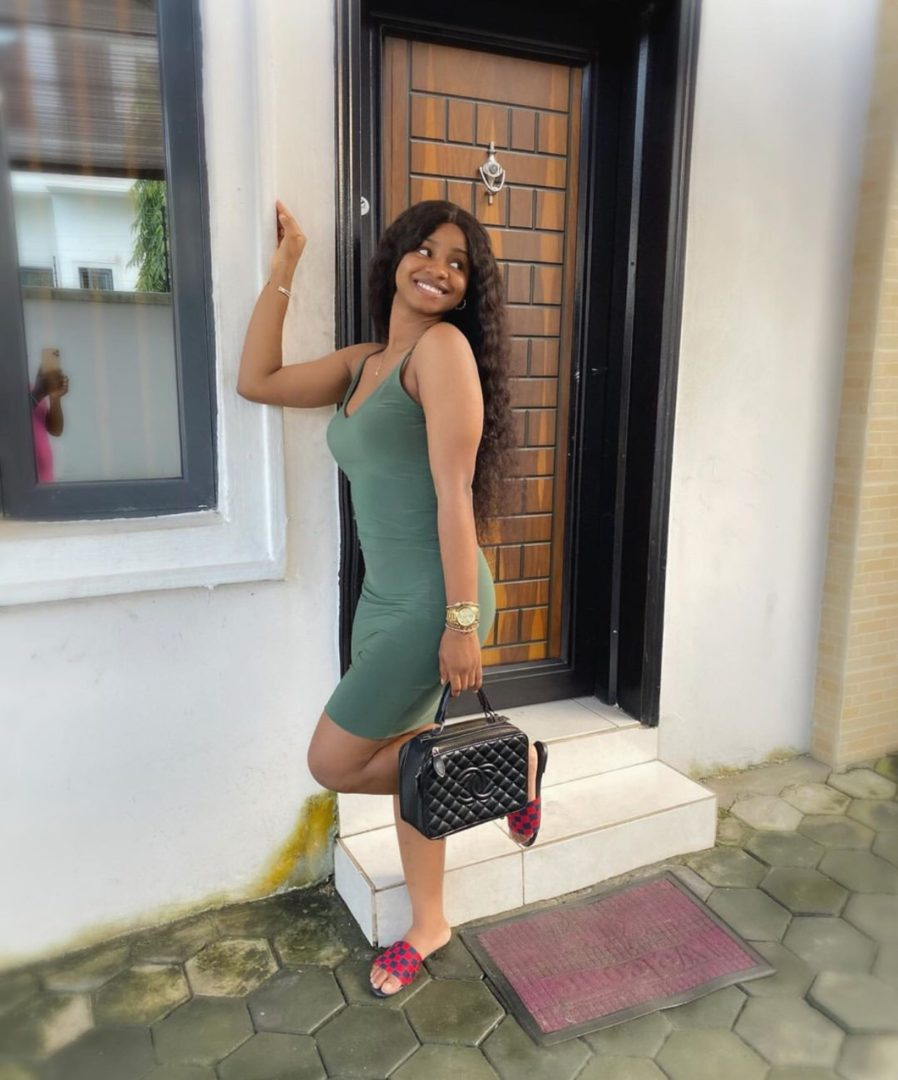 Priscilla Ojo looks classy in new photo as she celebrates herself