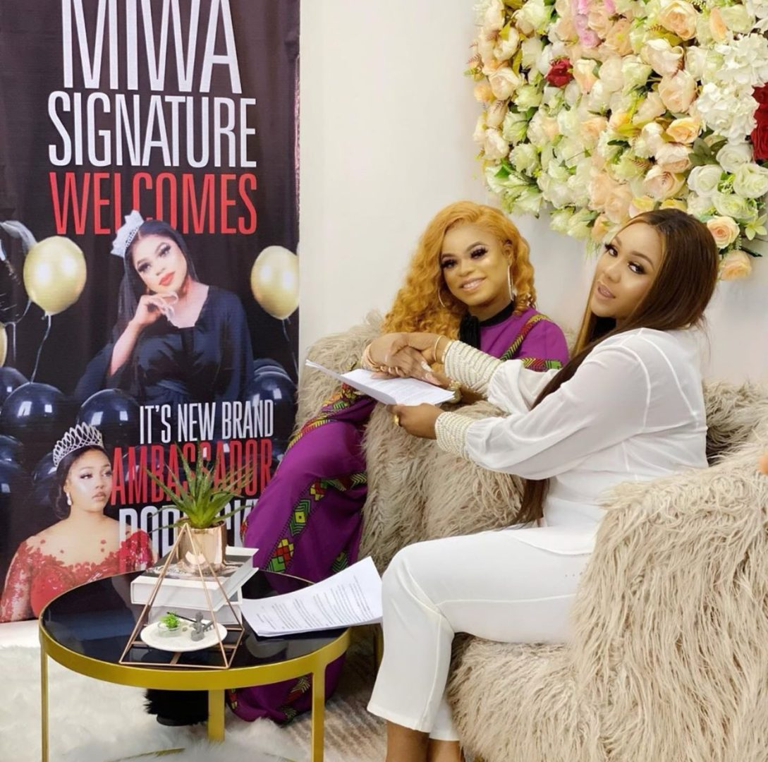 Bobrisky bags new contract with Miwa signature's place
