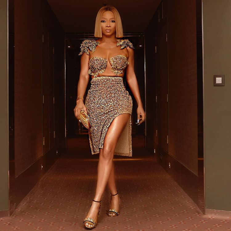 Toke Makinwa looking Sparkling in New Photo