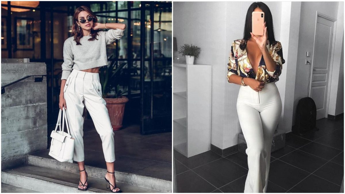 Uncomplicated Ways To Style Your White Pants