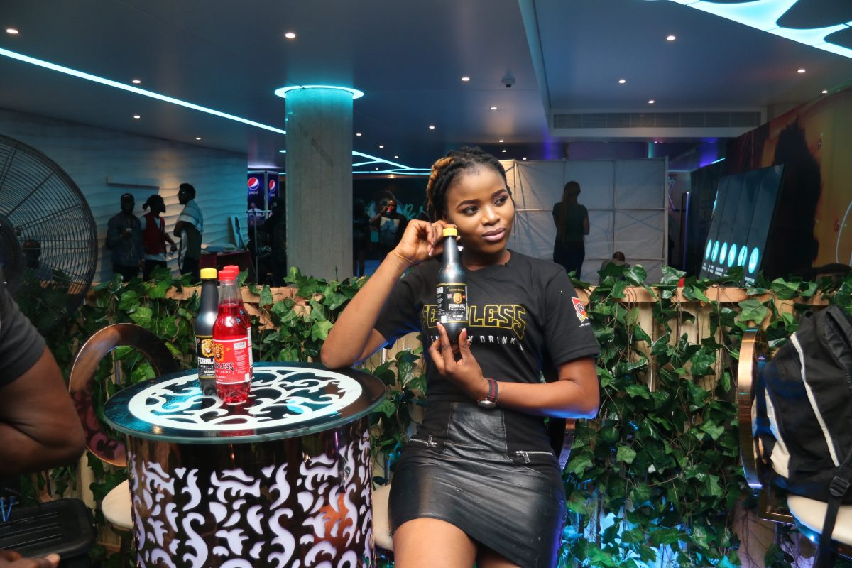 Fearless Energy Drink Dominates Teni Live