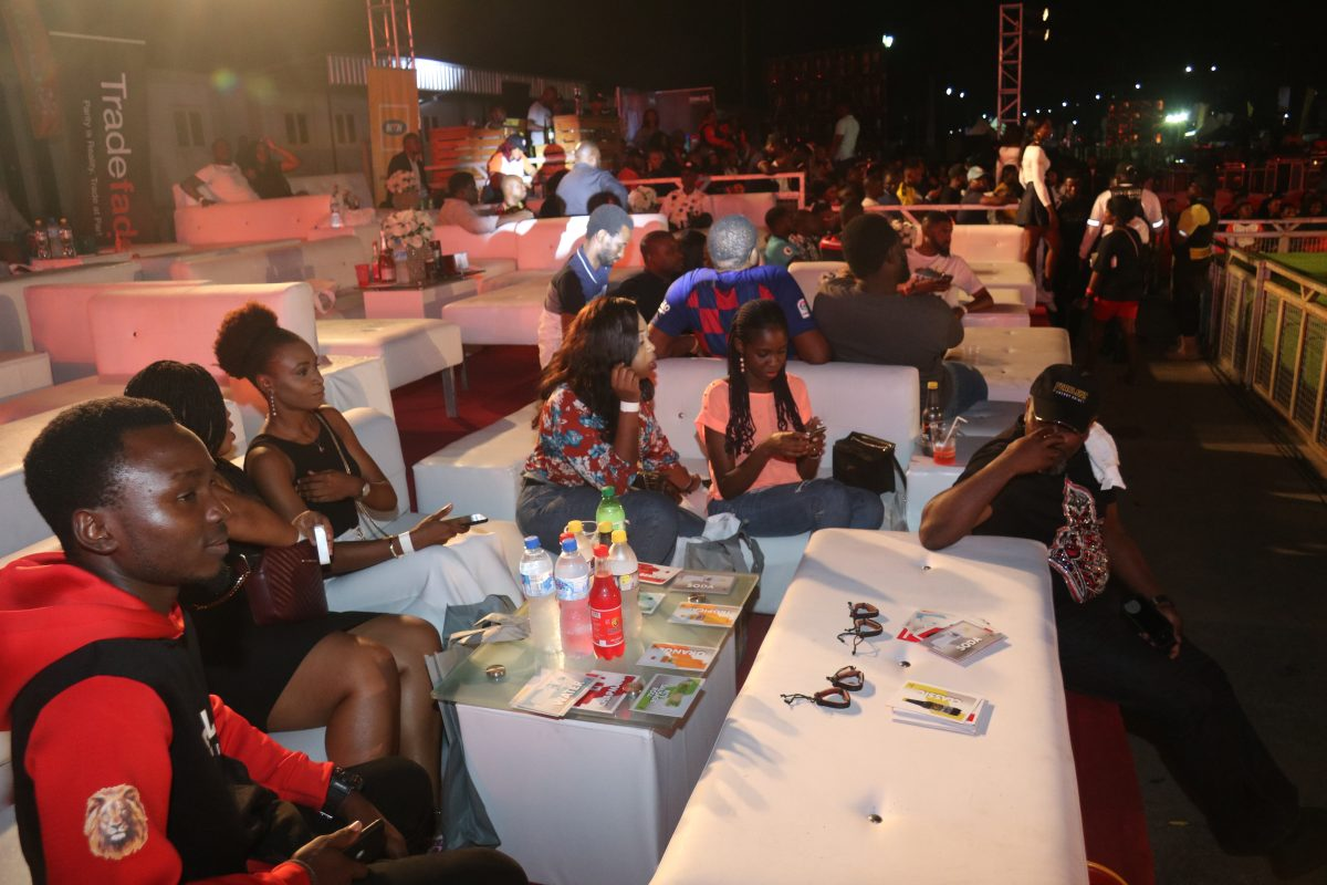 Fearless Energy Drink served to fans at Merrybet Celebrity Challenge 2019