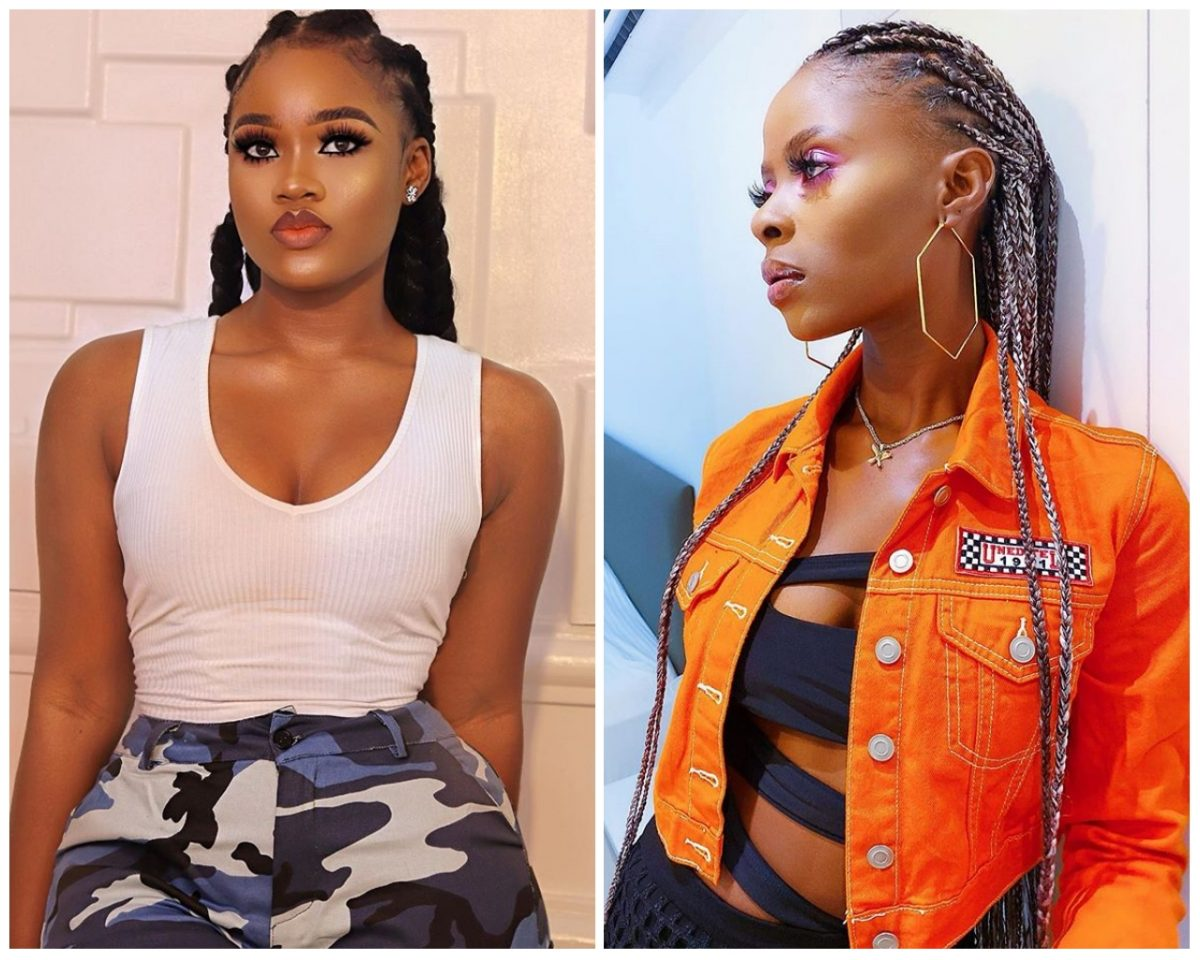 Khloe reacts to Cee-C's Sultry New Year Photos