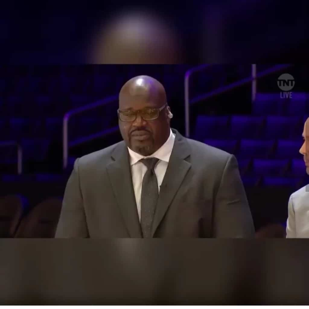 Shaquille O'Neal mourn Kobe Bryant's death amidst tears