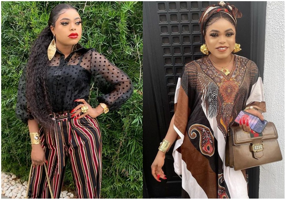 Bobrisky reveals how people were scared of her at a party