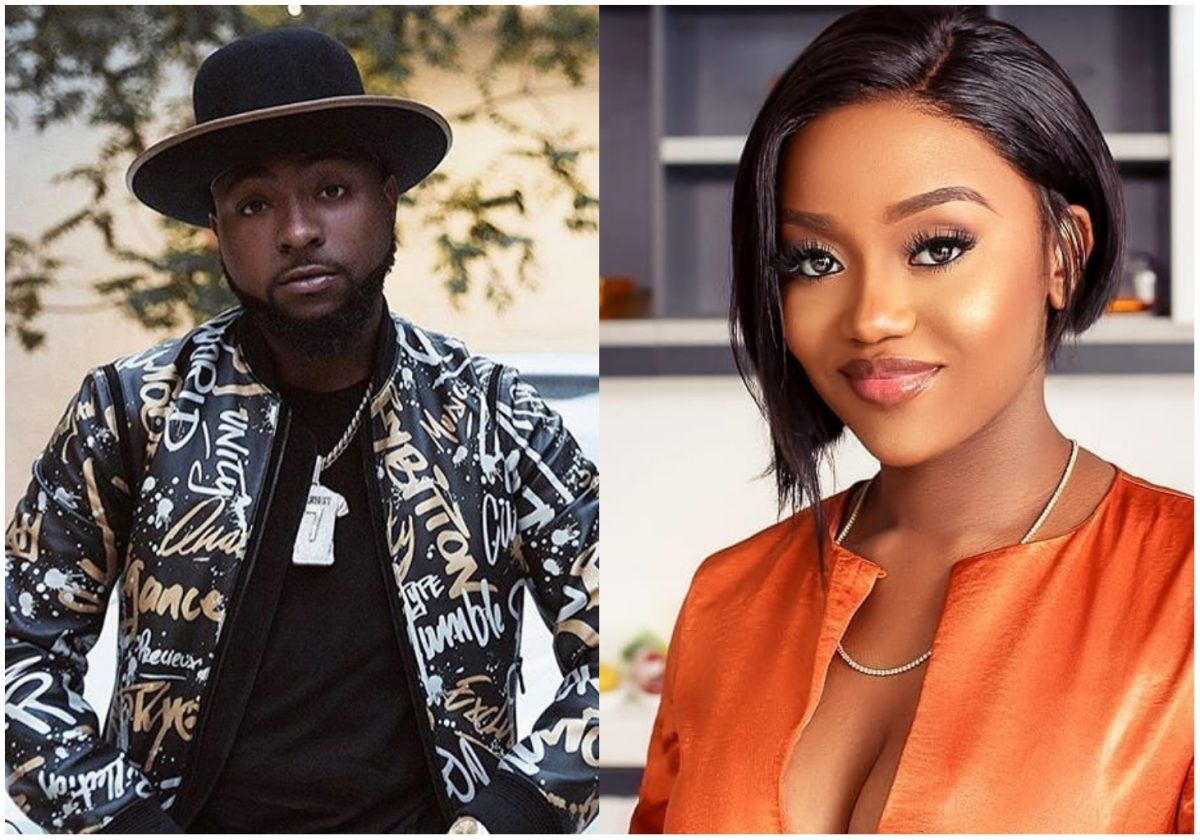 Davido and Chioma spotted partying together at a club amid breakup rumours