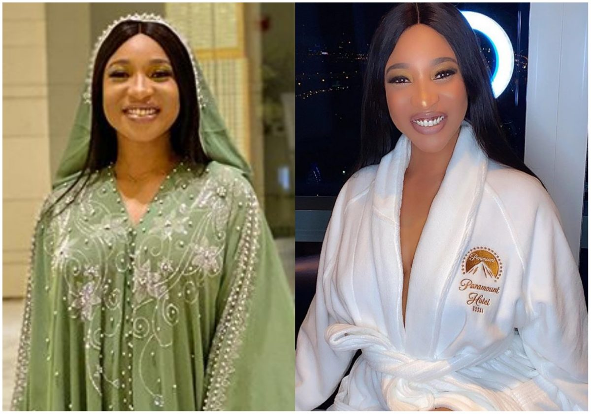 Tonto Dikeh vows not to post pictures on IG until she slims down