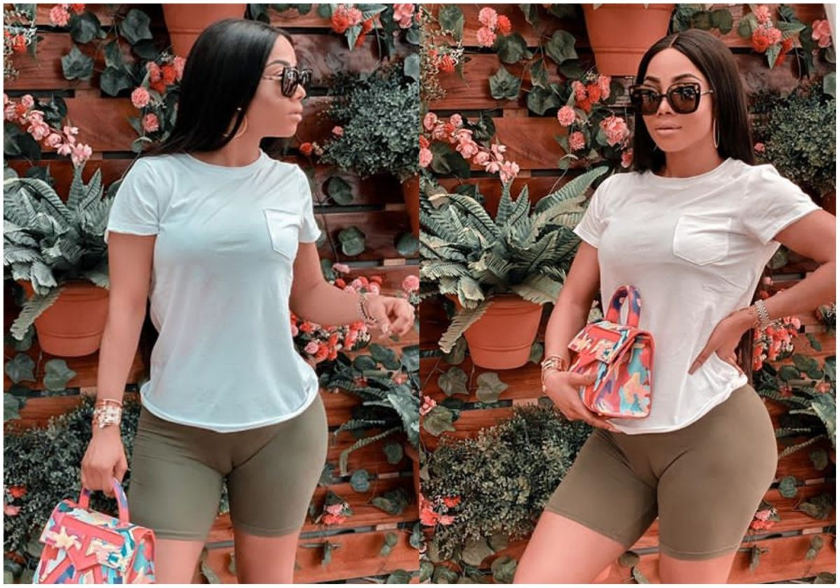 """""""I have a Phat P*ssy Syndrome, and its sweet in the middle""""- Toke Makinwa reacts to her camel toe pic"""