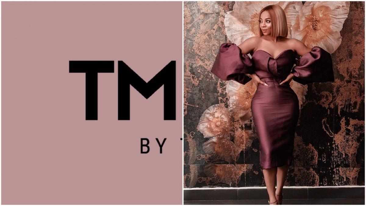 Toke Makinwa set to launch her new brand, TM Beauty