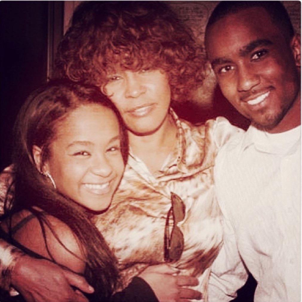 Whitney Houston, Bobbi Kristina Brown , Nick Gordon