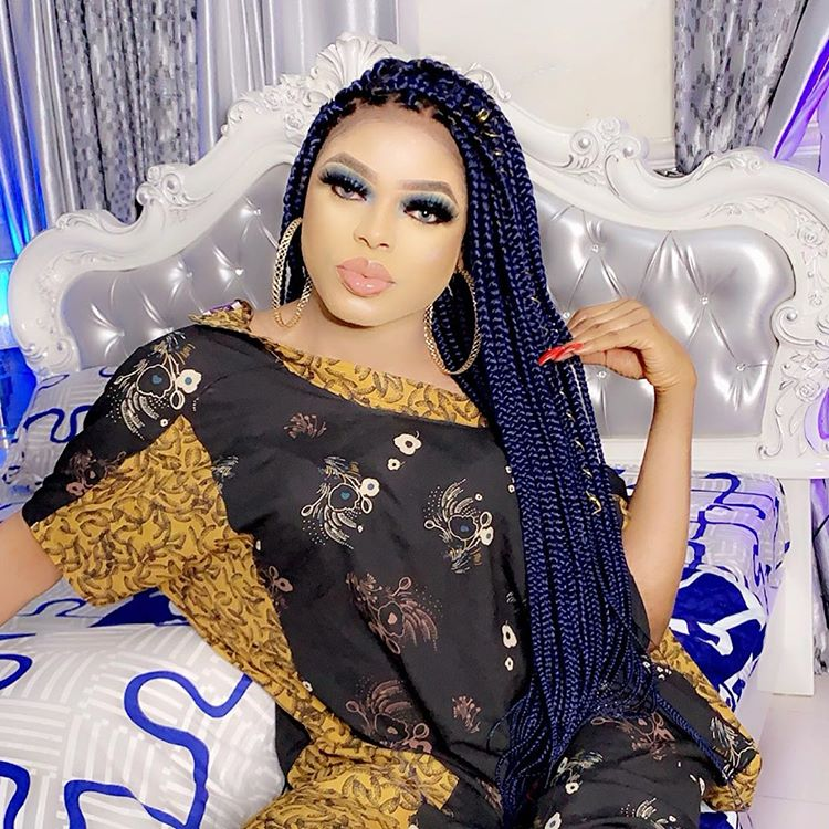 """Bobrisky shows off the N15 Million he got from """"runs"""" last night (Video)"""