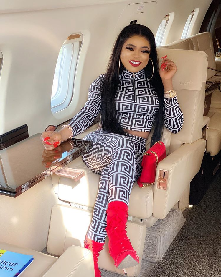 Bobrisky cries uncontrollably as he showers his anonymous boyfriend with love (Video)