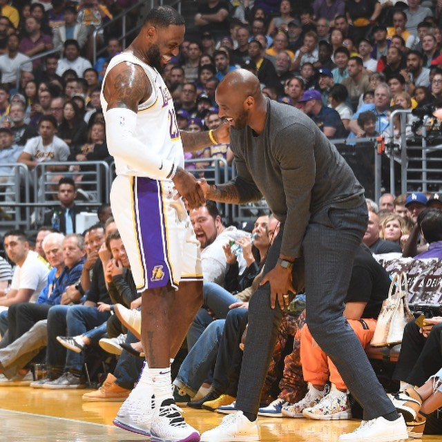 Lebron James mourn Kobe Bryant's with an heartfelt message