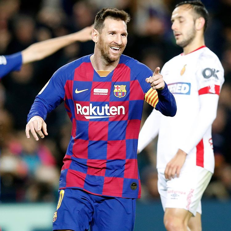 Lionel Messi wins 500 matches in Barcelona thrashing of Leganes