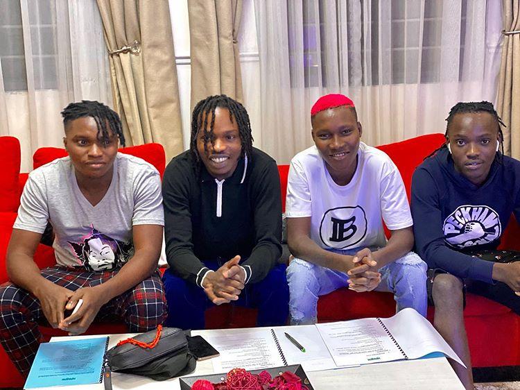 Naira Marley Signs Instagram Rappers Zinoleesky