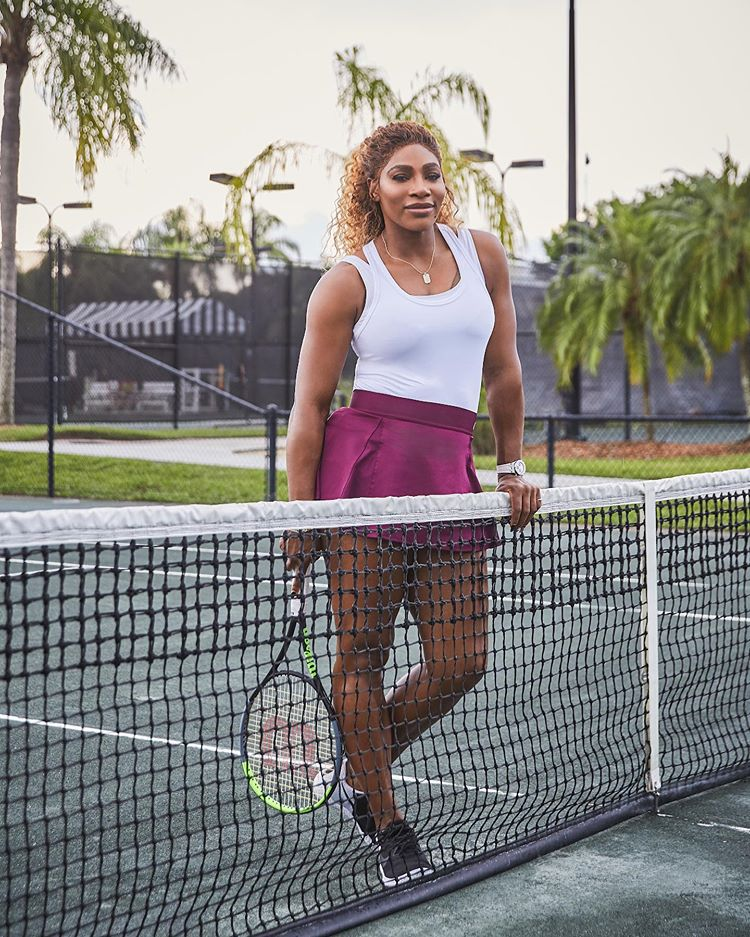 Serena Williams flaunt great physique as she partners with Amazon