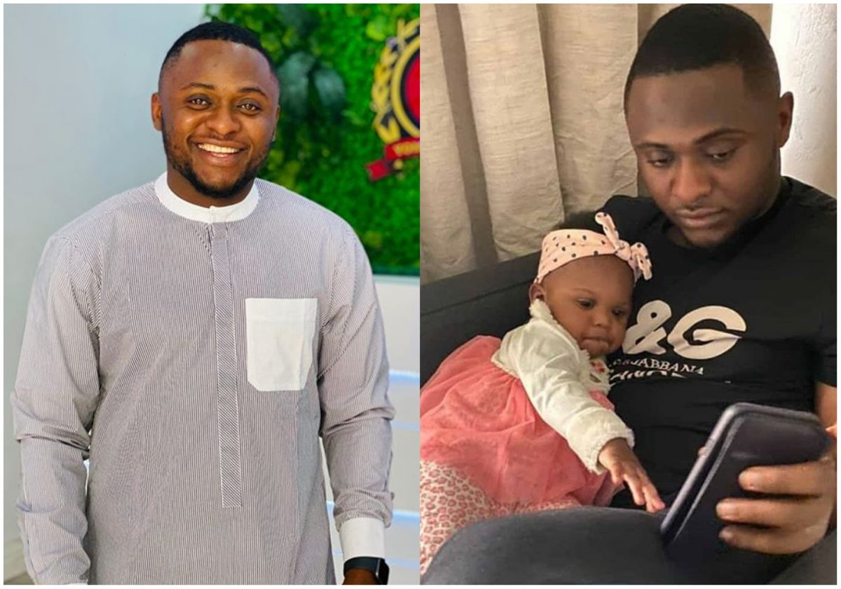 Ubi Franklin and daughter Ariella all loved up in new dazzling photo