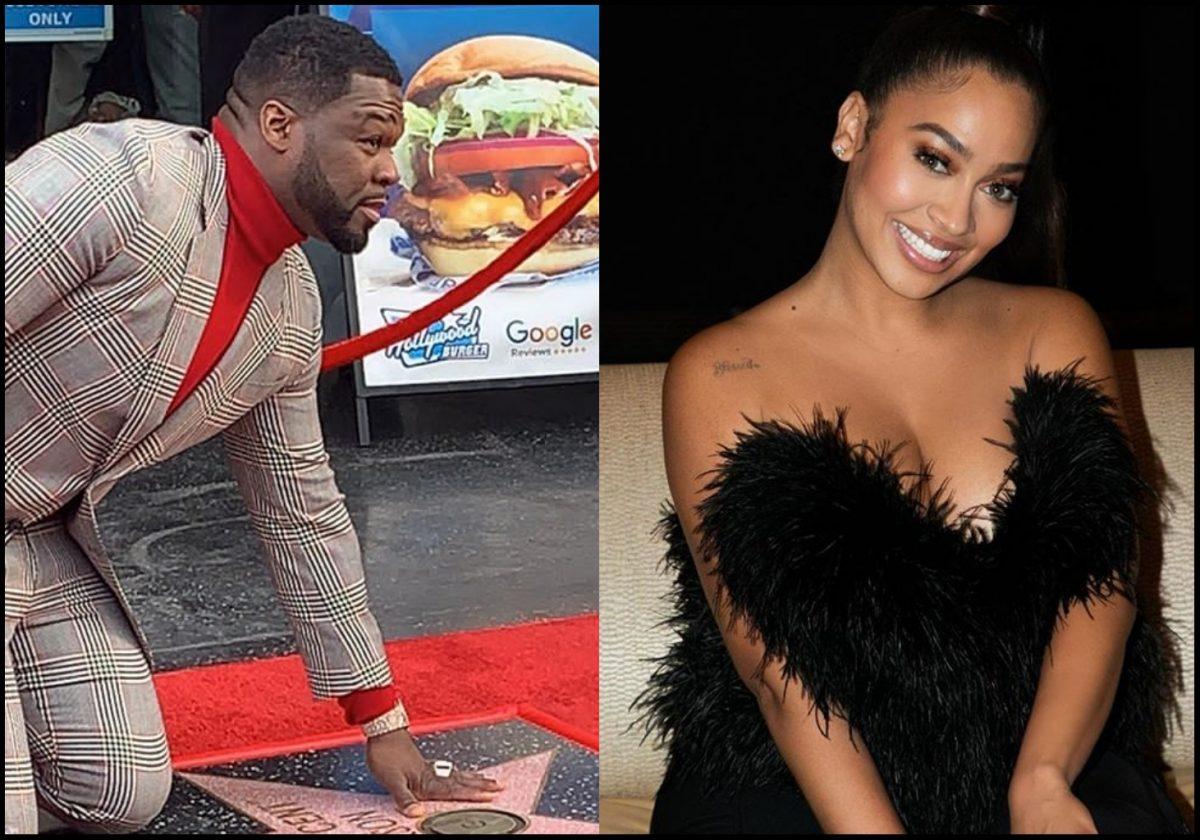 Lala Anthony celebrates 50 Cent on Hollywood walk of fame achievement