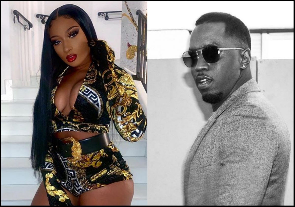 Puff Daddy and Megan Thee Stallion look all loved up in new hot photo