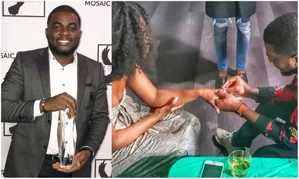 Singer Kelly Hansome engage girlfriend, marriage set to hold soon (Photo)