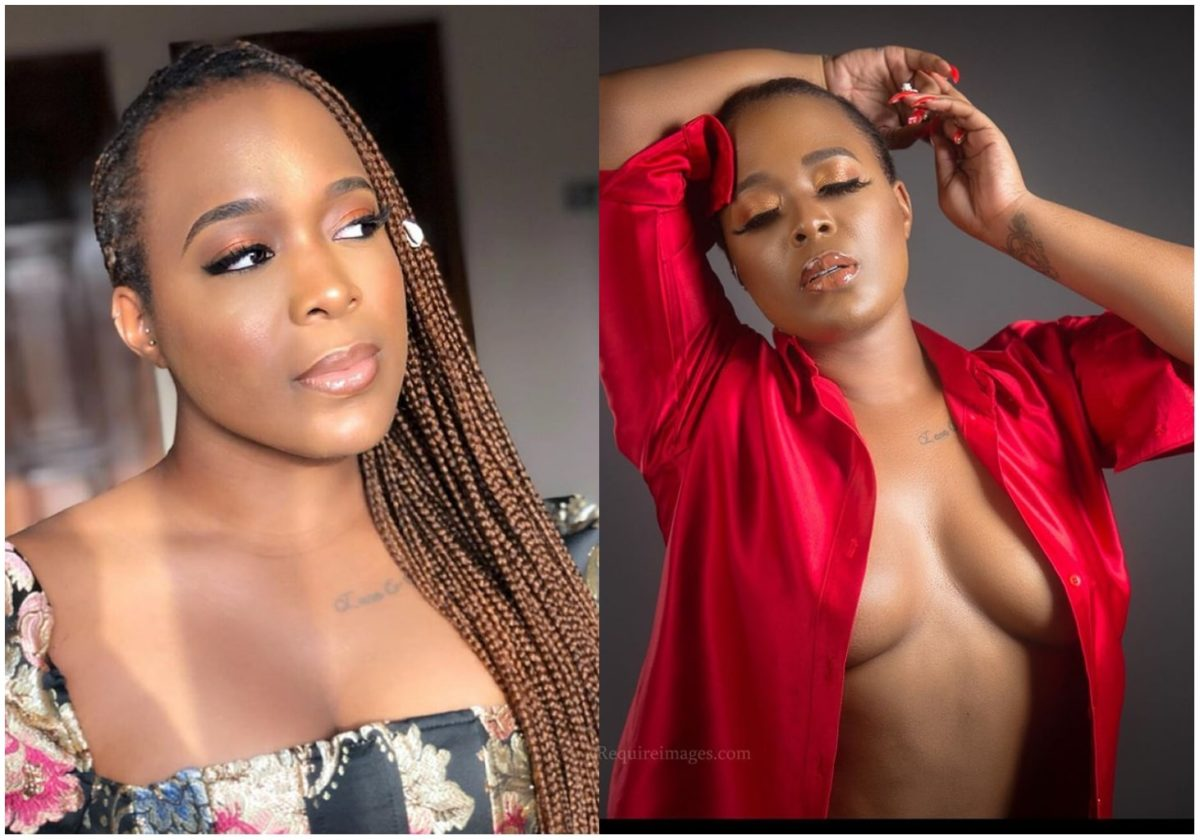 Actress Moet Abebe tension IG with new cleavage revealing photo
