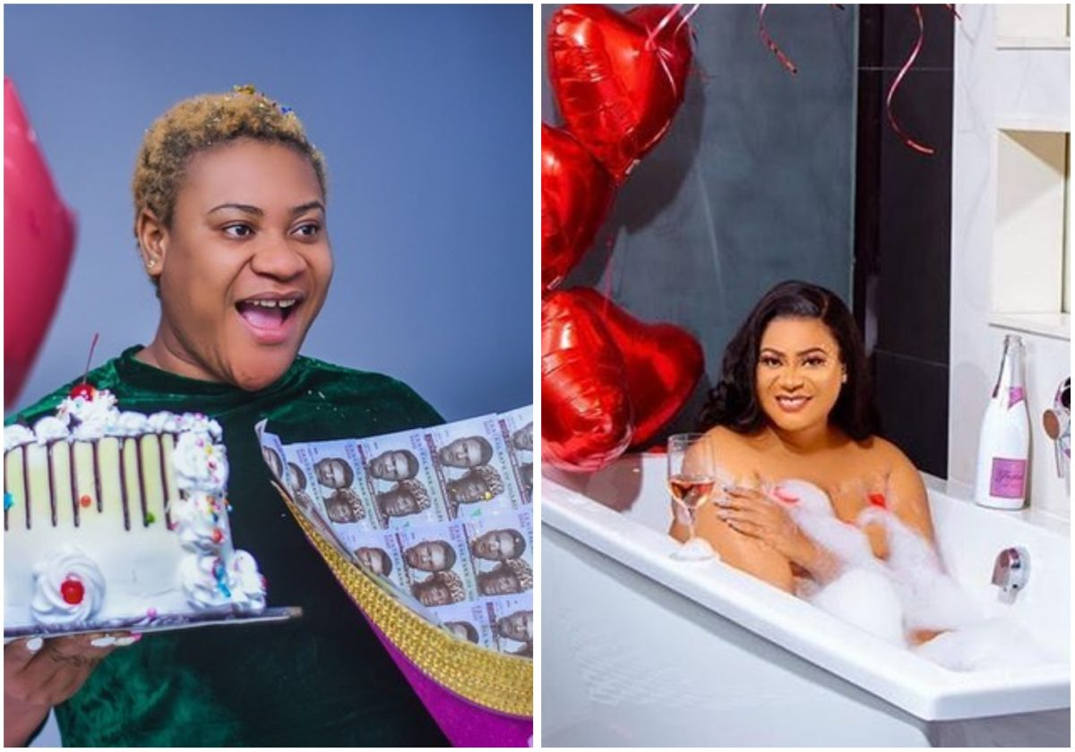 Actress Nkechi Blessing celebrates 31st birthday with raunchy photo