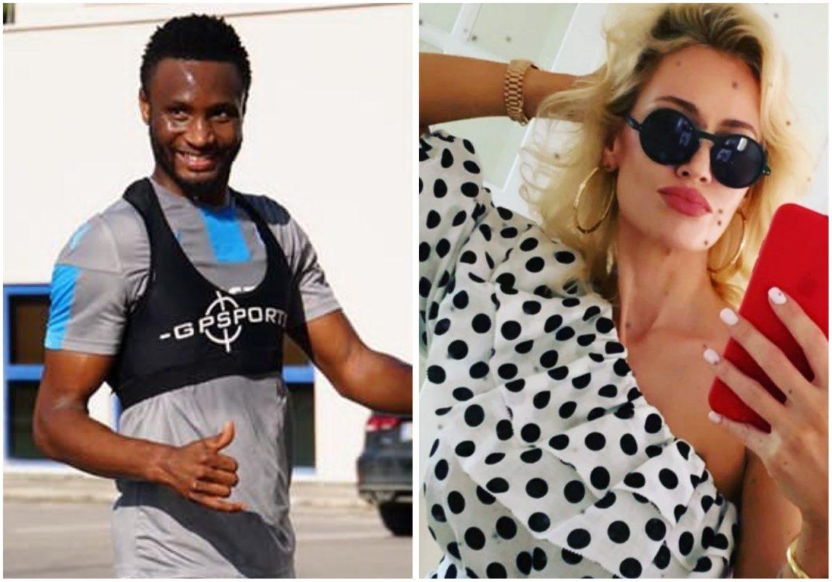 Mikel Obi showers praise on wife, Olga Diyachenko on Valentine's Day
