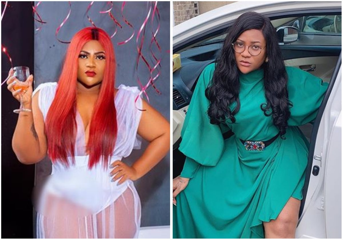 Actress Nkechi Blessing shades critics with cryptic message on IG
