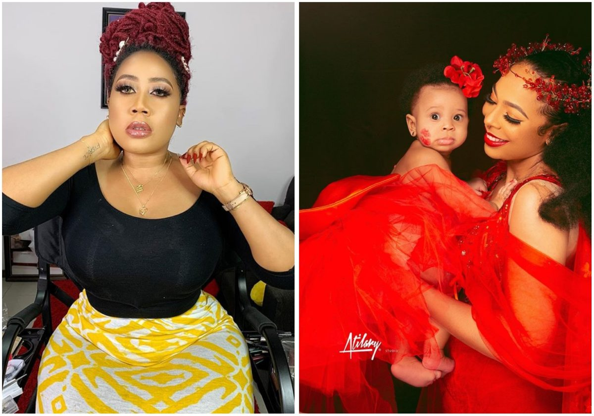 Actress Moyo Lawal defends Tboss says fans trolling single mothers are silly